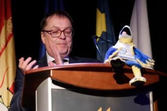 Le recteur de l'Université de Moncton, Jacques Paul Couturier. - Acadie Nouvelle: Patrick Lacelle