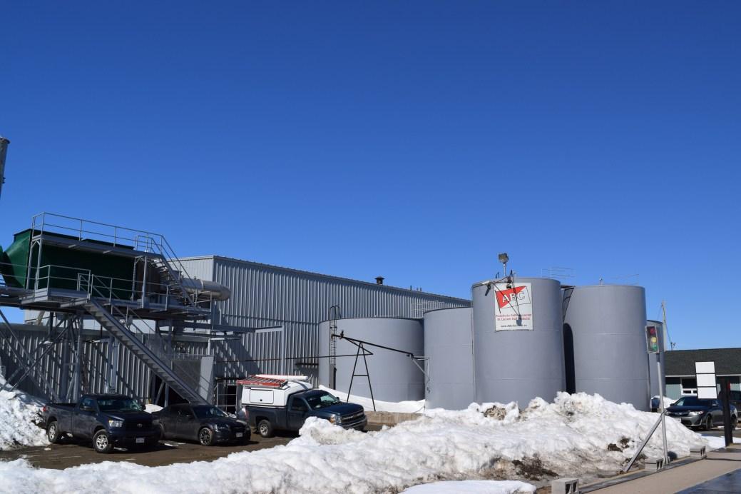 L'usine de Produits du Golfe Saint-Laurent à Bas-Caraquet. - Acadie Nouvelle: David Caron