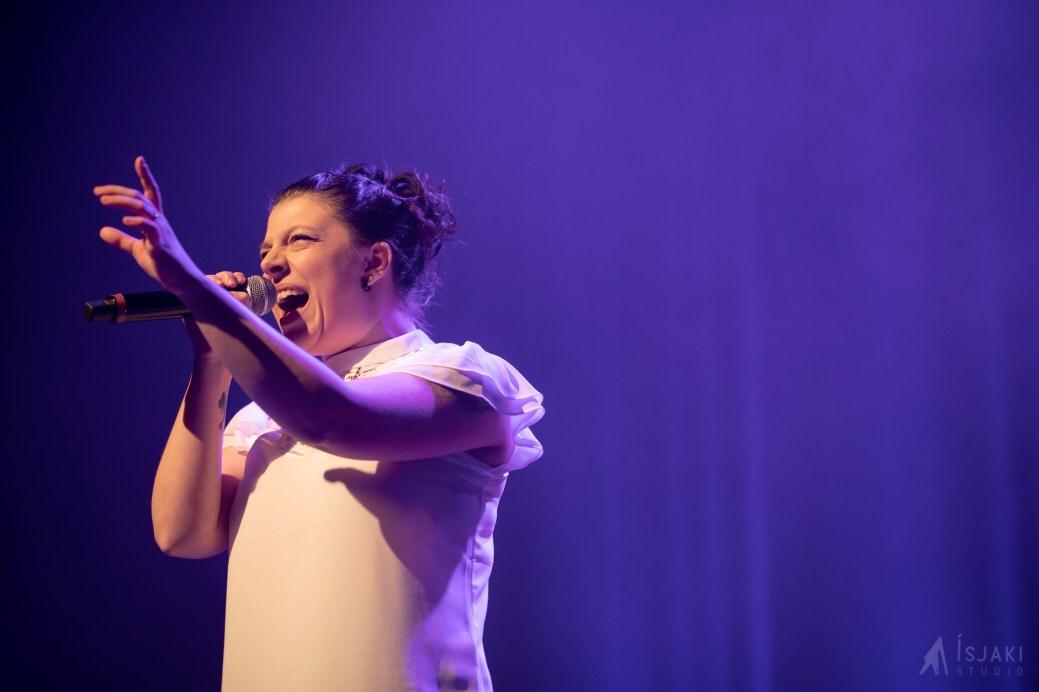 Joanie Savoie a remporté les grands honneurs, ce week-end, lors de CCNB sur scène. - Gracieuseté