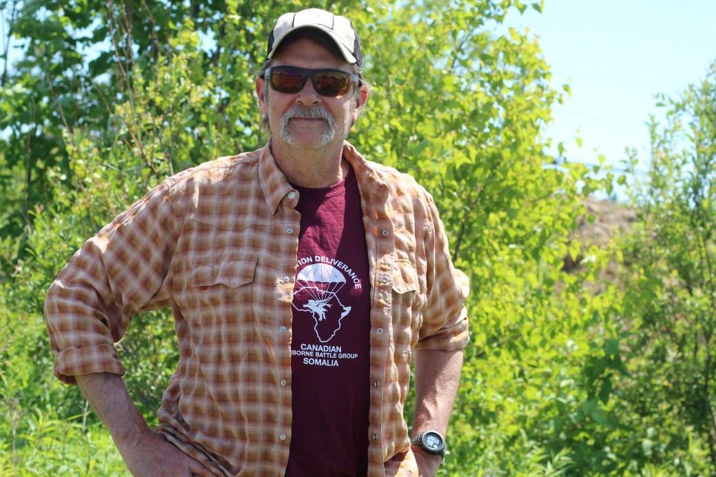 Jeff Butler déplore les mauvaises informations qui circulent au sujet de la survie. - Acadie Nouvelle: Simon Delattre.