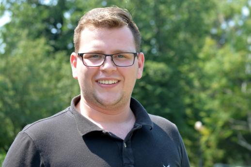Mark Nowlan aspire à devenir infirmier, mais il espère qu'il n'aura pas à se soumettre à l'examen NCLEX-RN. - Acadie Nouvelle: Alexandre Boudreau