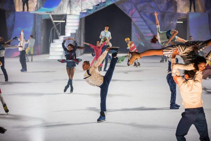 Shawn Sawyer dans une scène du spectacle Crystal du Cirque du Soleil. - Gracieuseté: Matt Beard, Cirque du Soleil