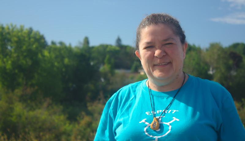 Susan Levi-Peters est une ancienne cheffe de la réserve d'Elsipogtog. Elle habite aujourd'hui à Moncton. - Acadie Nouvelle: Cédric Thévenin