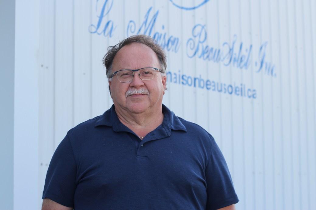 Amédée Savoie, directeur général de La Maison Beausoleil. - Acadie Nouvelle: Simon Delattre
