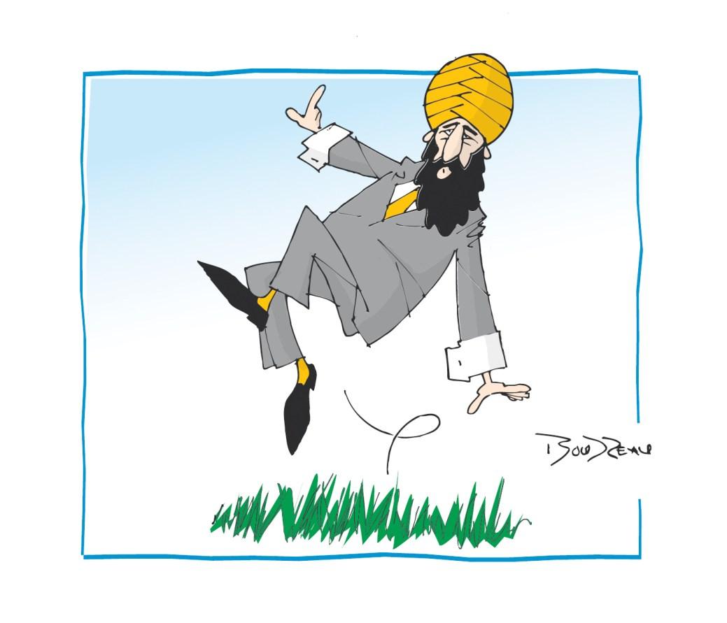 Caricature, 6 septembre 2019