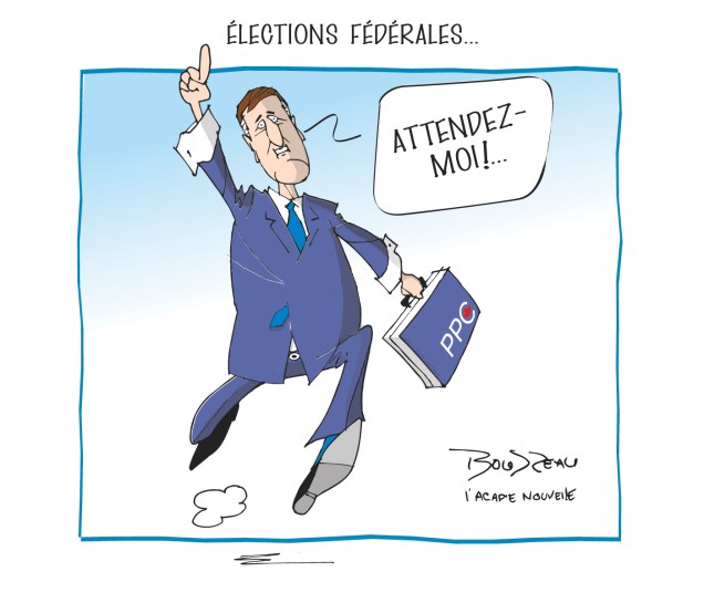 Caricature, 13 septembre 2019