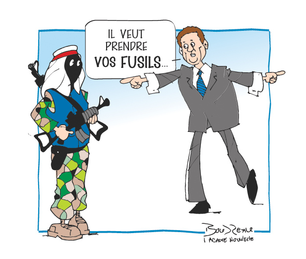 Caricature, 26 septembre 2019