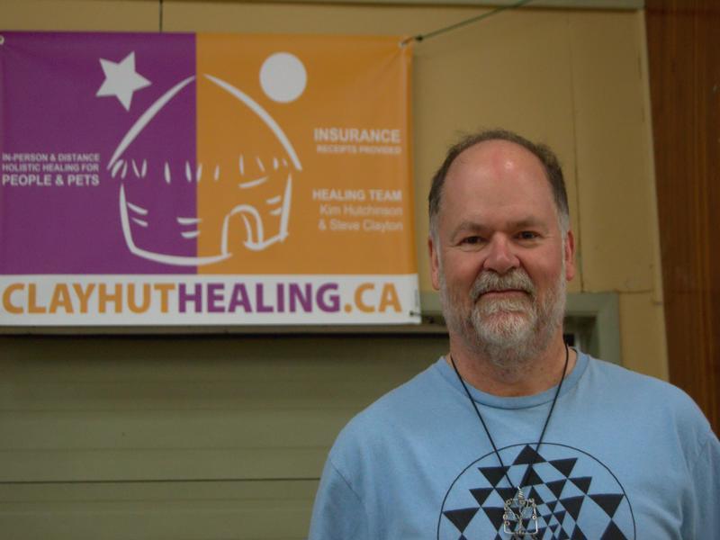 Steve Clayton pratique le reiki et a organisé la foire holistique. - Acadie Nouvelle: Cédric Thévenin