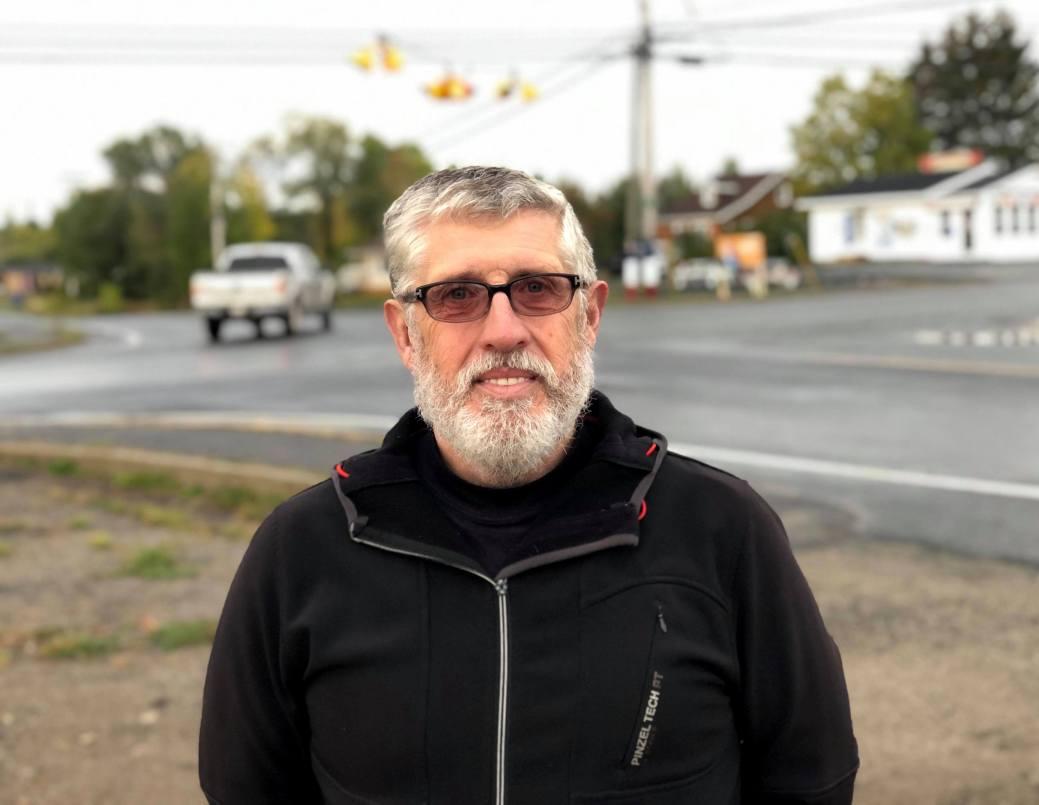 Robert Doucet, président du DSL de Robertville. - Acadie Nouvelle : Allison Roy.
