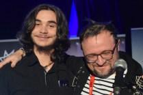 Jacques Surette a reçu deux prix à la FrancoFête dont le Prix Marc Chouinard-Festival Voix de Fête. Acadie Nouvelle: Sylvie Mousseau
