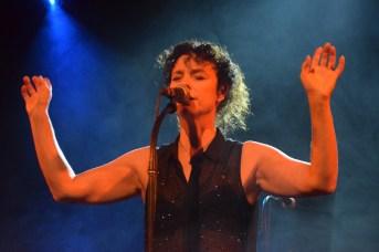 Isabelle Cyr en spectacle à la FrancoFête en Acadie. Acadie Nouvelle: Sylvie Mousseau