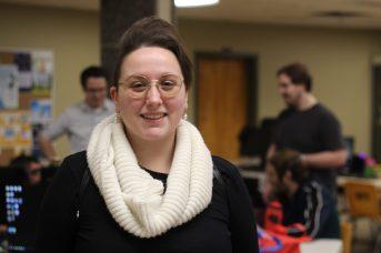 Catherine Roy-Comeau est une habituée du LAN de l'espoir. - Acadie Nouvelle: Alexandre Boudreau
