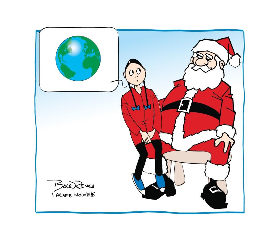 Caricature, 18 décembre 2019