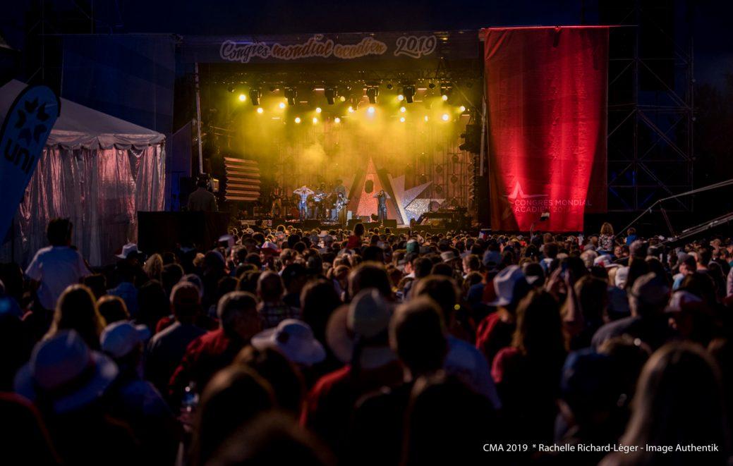 Le spectacle du 15 août à Dieppe. - Gracieuseté: Rachelle Richard-Léger Image Authentik