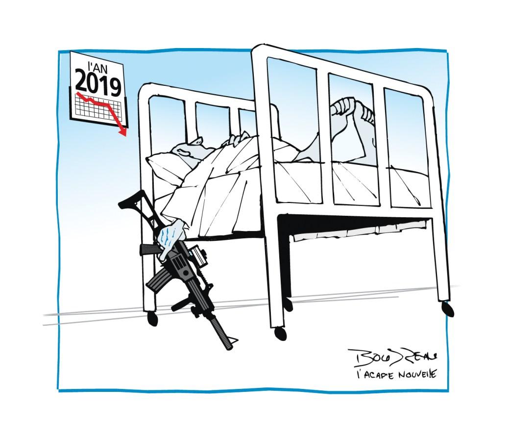 Caricature, 31 décembre 2019