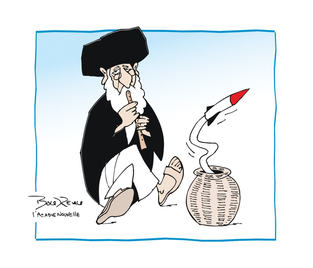 Caricature, 9 janvier 2020