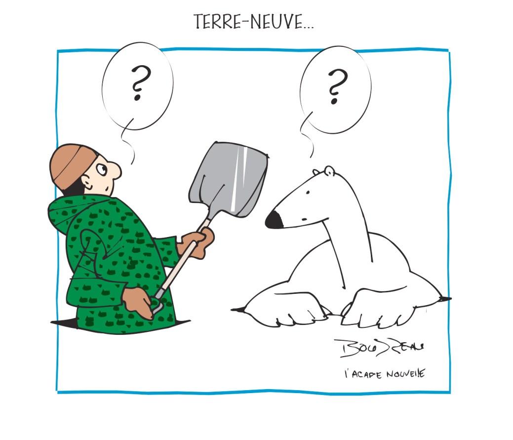 Caricature, 22 janvier 2020