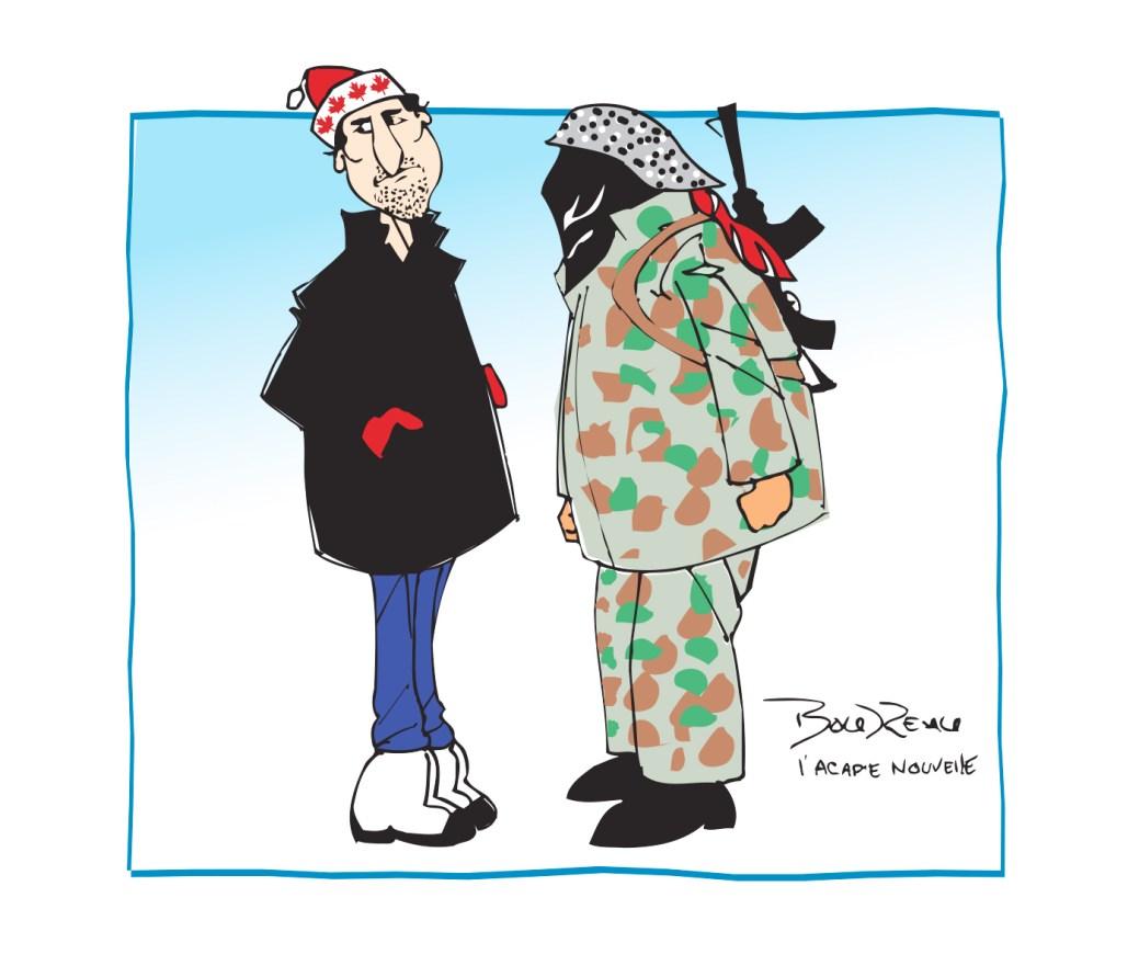 Caricature, 21 février 2020