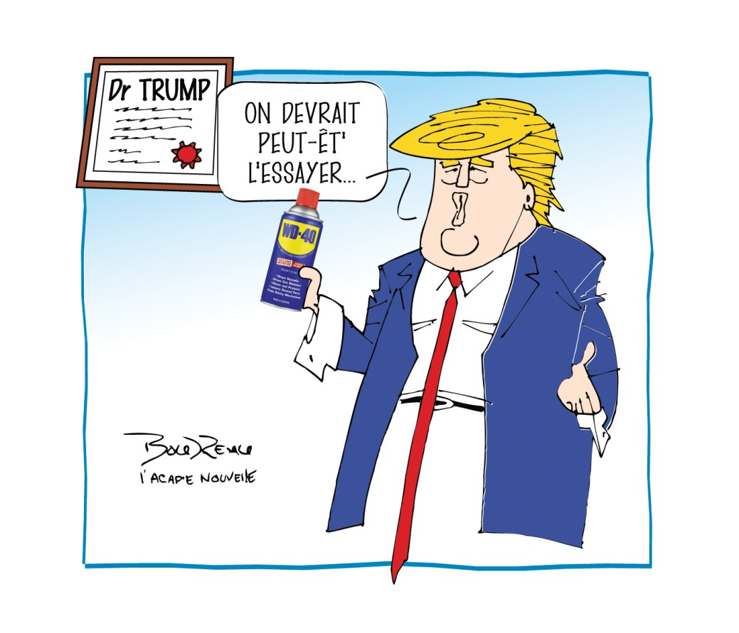 Caricature, 28 avril 2020