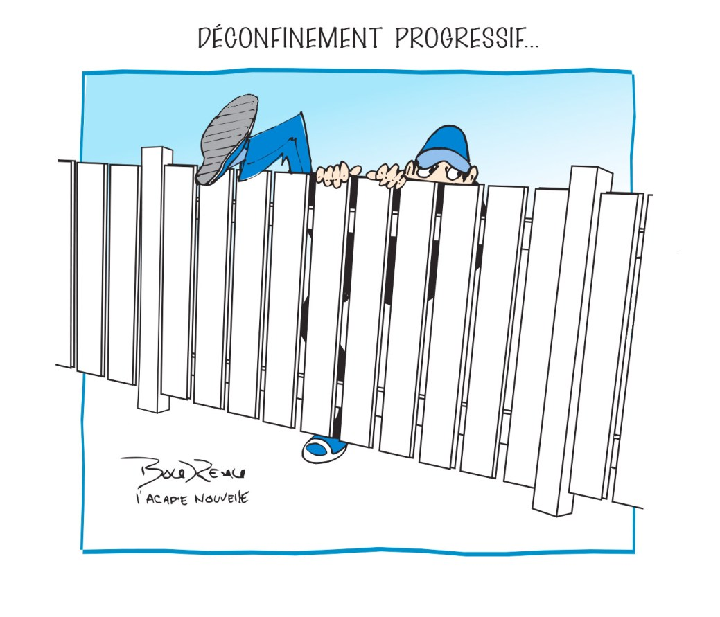 Caricature, 7 mai 2020