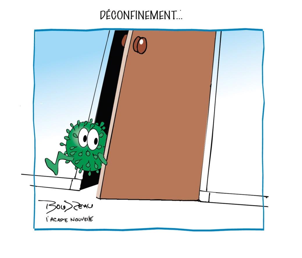 Caricature, 14 mai 2020