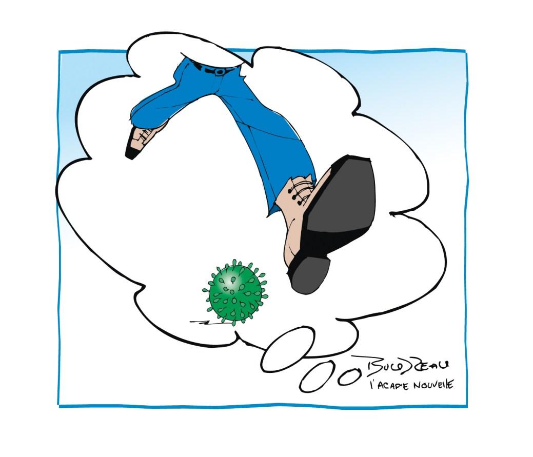 Caricature, 15 mai 2020
