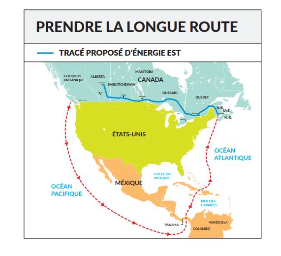 Graphique: Acadie Nouvelle