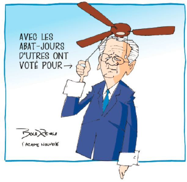 Caricature, 23 septembre 2020