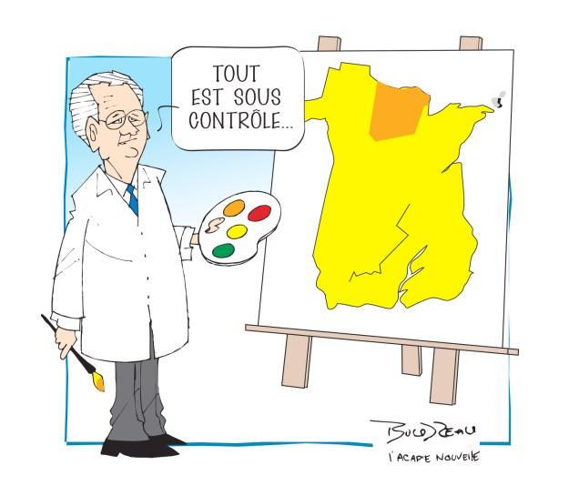 Caricature, 28 octobre 2020