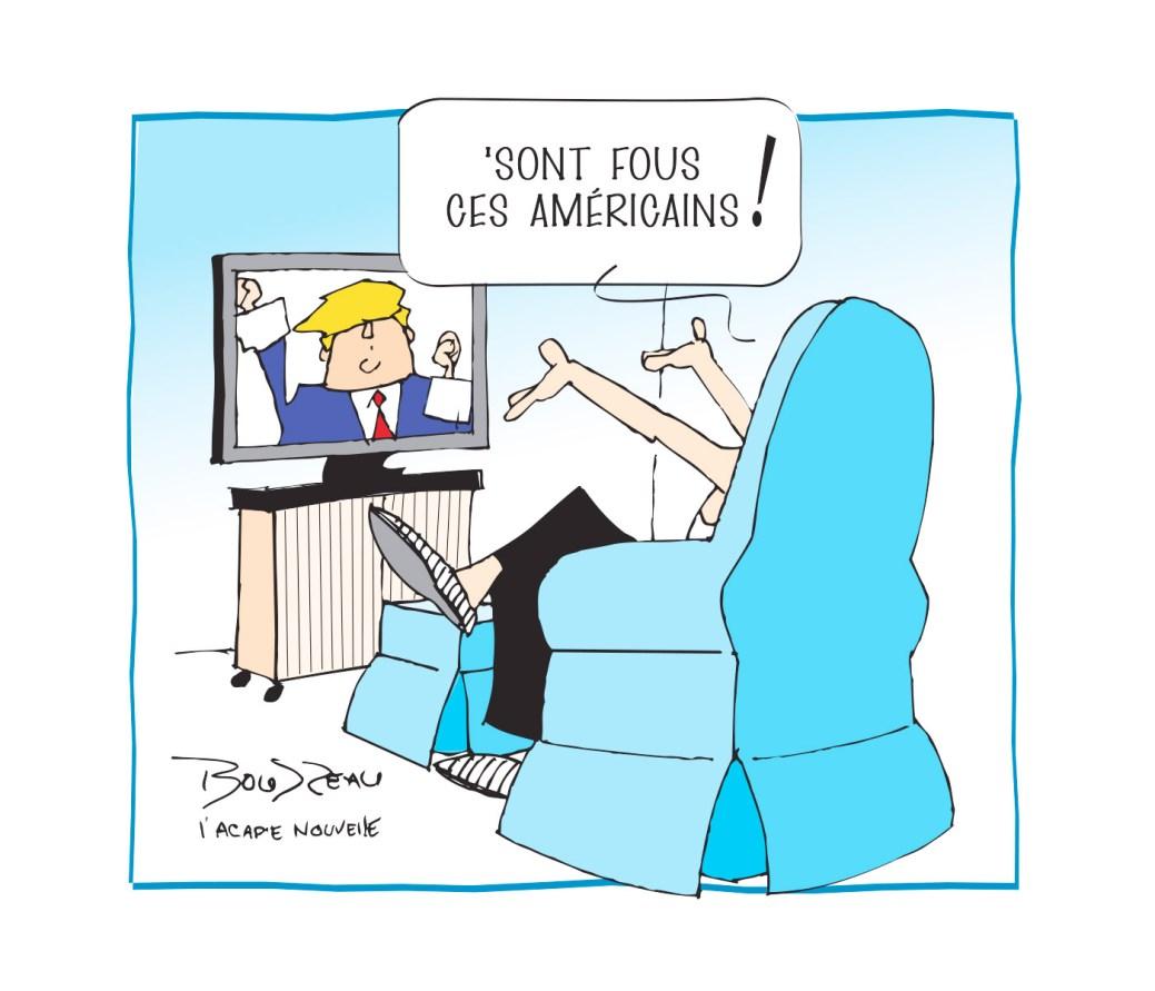 Caricature, 6 novembre 2020