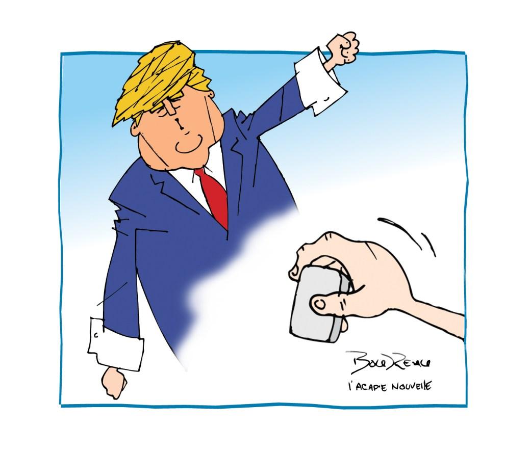 Caricature, 13 novembre 2020