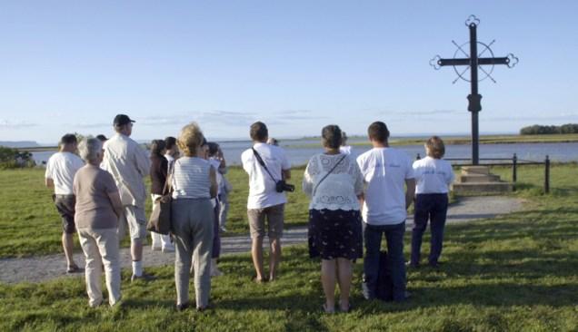 Une scène du film Belle-Île en Acadie de Phil Comeau. - Gracieuseté: Bernard Fougères