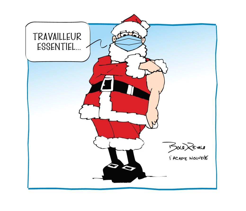 Caricature, 15 décembre 2020