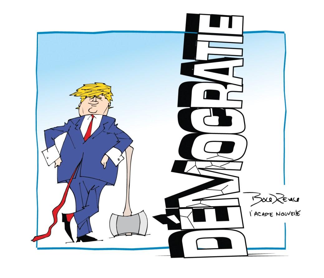 Caricature, 8 janvier 2021