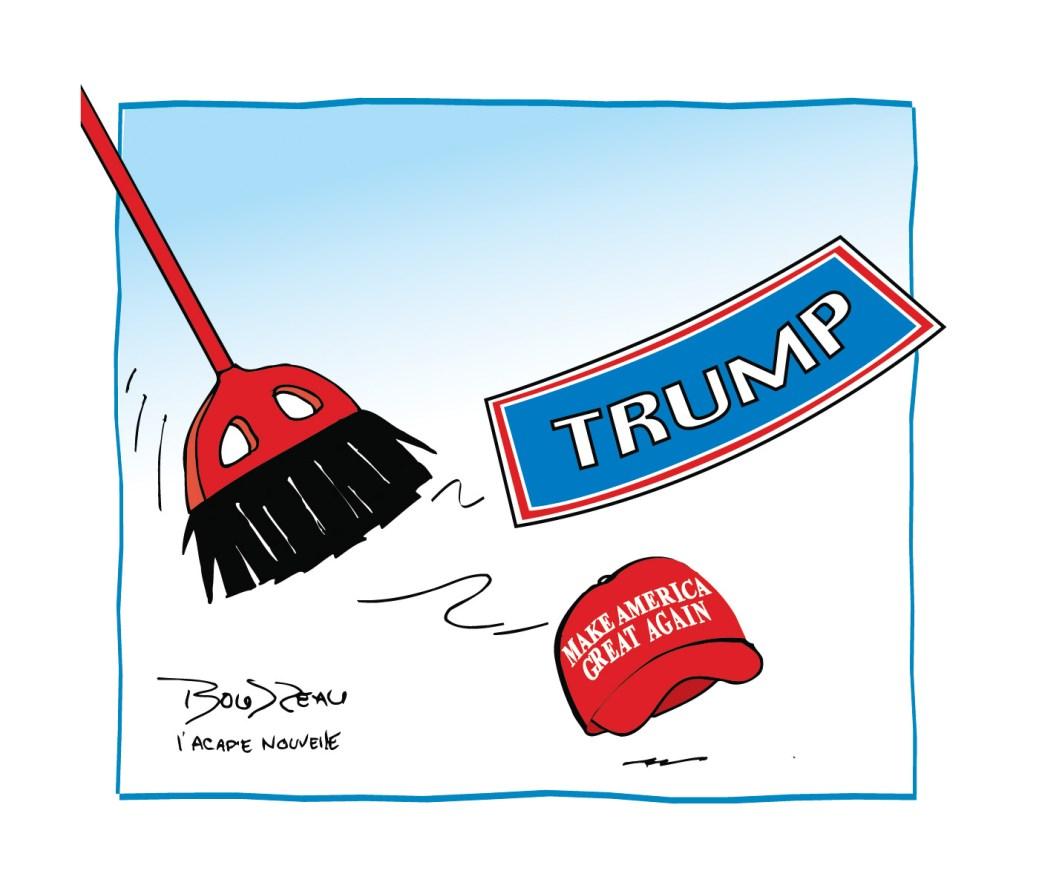 Caricature, 19 janvier 2021