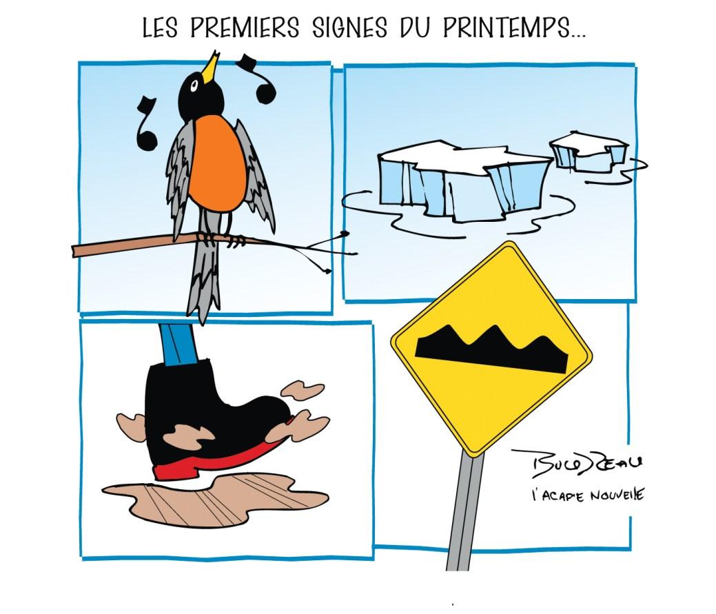 Caricature, 25 mars 2021