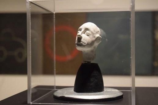 Une sculpture de Christian Michaud qui se trouve dans l'exposition Auto sapiens. - Acadie Nouvelle: Sylvie Mousseau