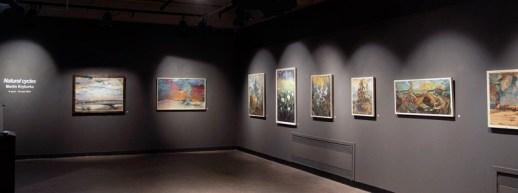 Martin Krykorka présente l'exposition Natural cyles à la Galerie Bernard-Jean à Caraquet. - Gracieuseté