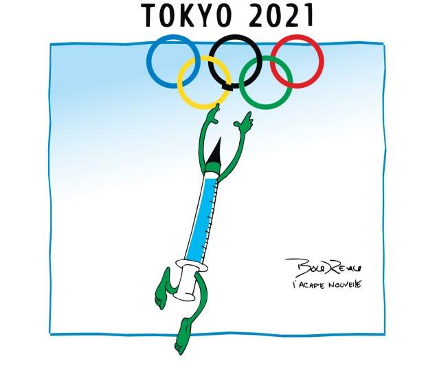 Caricature, 22 juin 2021