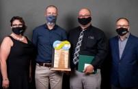 La compagnie Levesque McIntyre Electric est lauréate du prix Entreprise de l'année 25 employés et moins. - Gracieuseté: Photographie Franky