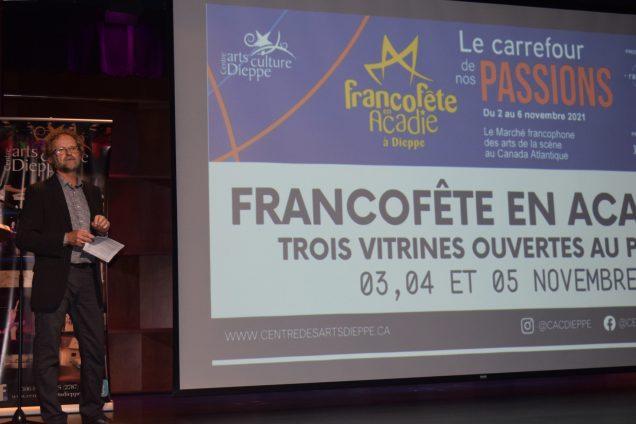 Louis Doucet a dévoilé la programmation de la nouvelle saison du CACD. - Acadie Nouvelle: Sylvie Mousseau