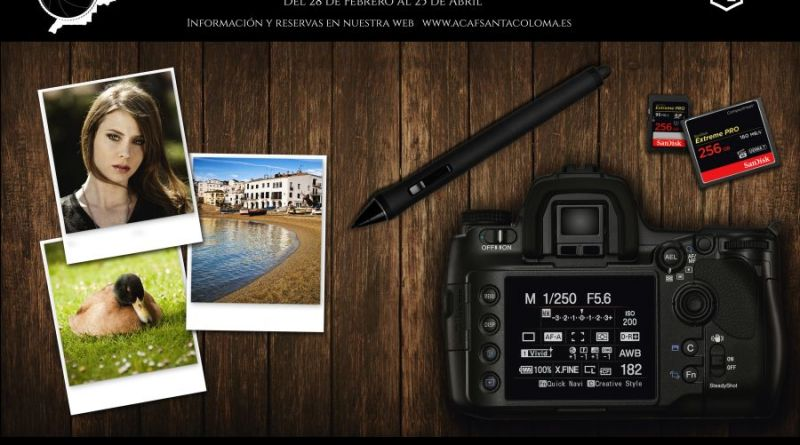 Curso de iniciación a la fotografía con Jonatan Justícia en Santa Coloma de Grameneet Barcelona
