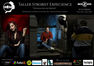 Taller de iluminación Strobist con Jonatan Justícia en ACAF Santa Coloma