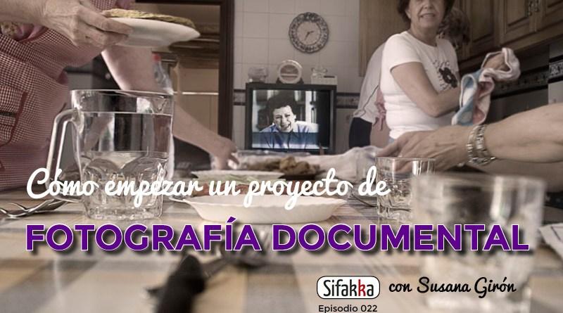 Cómo empezar un proyecto de Fotografía de Retrato Documental con Susana Girón