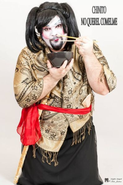Eso es una geisha?? Esto es una geisha!XD - Francisco José Justícia