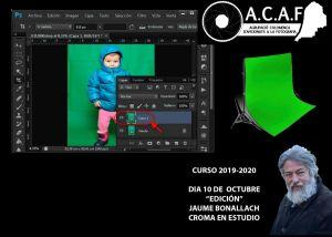 Edición fotográfica de fotos con croma en estudio con Jaume Bonallach