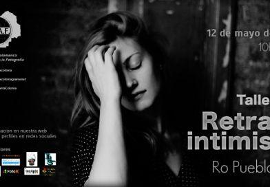 taller de retrato intimista con Ro Puebla RedLandParcel en ACAF Santa Coloma 2