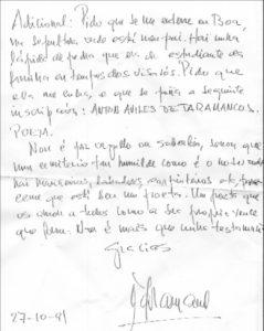 Carta de Avilés de Taramancos