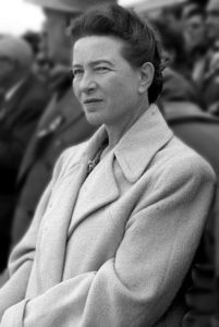 Simone de Beauvoir en Beijing