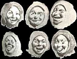 Máscaras de Os Vellos non deben namorarse